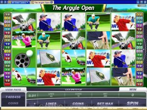 Argyle Open Casino Game